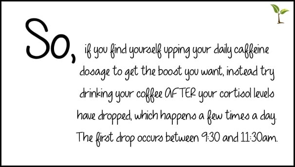 Coffee When to have