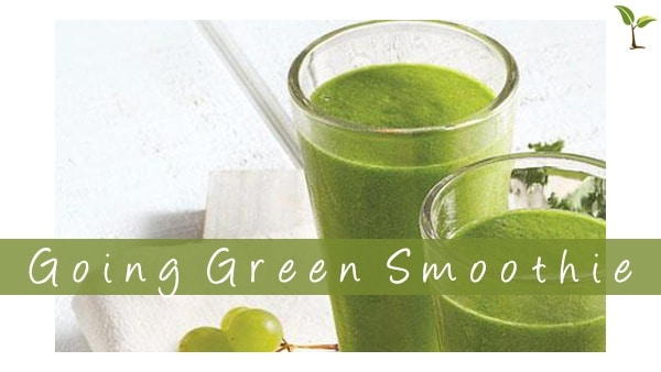 Going green smoothie11