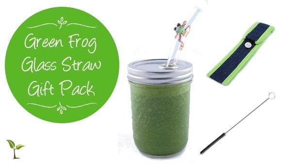 green frog gift pack
