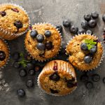 Vegan & Gluten Free Protein Hit Blueberry Muffins 1920×1080